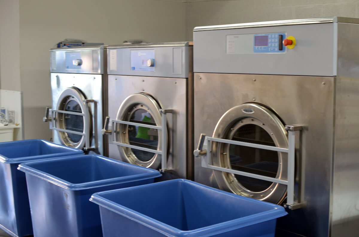 Electrolux OPL Washers by Uniwasher, Miami's #1 commercial laundry distributor, providing the best commercial laundry equipment, including washing machines, dryers, and dry cleaning equipment. We proudly serve laundry businesses throughout South Florida. Uniwasher can outfit your Florida laundromat business with the best coin laundry machines, laundromat supplies, and chemicals. We also provide on-premises laundry solutions for commercial laundries, hotels, hospitals, restaurants, and more. We distribute Electrolux, Wascomat, and Crossover commercial laundry equipment in South Florida and Speed Queen, UniMac, Primus, ADC, and IPSO throughout The Caribbean, Costa, Rica, and El Salvador. Contact us today! Your satisfaction is our guarantee.