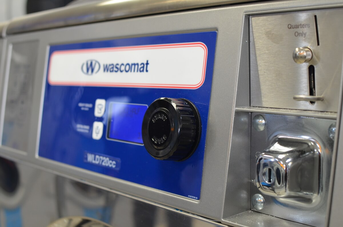 Wascomat Coin Laundry by Uniwasher, Miami's #1 commercial laundry distributor, providing the best commercial laundry equipment, including washing machines, dryers, and dry cleaning equipment. We proudly serve laundry businesses throughout South Florida. Uniwasher can outfit your Florida laundromat business with the best coin laundry machines, laundromat supplies, and chemicals. We also provide on-premises laundry solutions for commercial laundries, hotels, hospitals, restaurants, and more. We distribute Electrolux, Wascomat, and Crossover commercial laundry equipment in South Florida and Speed Queen, UniMac, Primus, ADC, and IPSO throughout The Caribbean, Costa, Rica, and El Salvador. Contact us today! Your satisfaction is our guarantee.